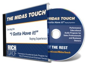 Midas Touch CD And Cover